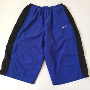Nike Dri-Fit Flex Woven Training Blue Shorts Sz L